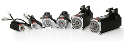 servo motors by size