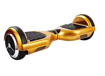 Golden hoverboard